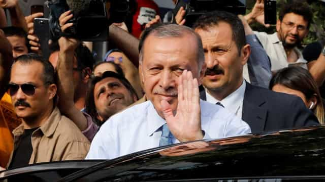 Erdogan declara vitória nas eleições da Turquia