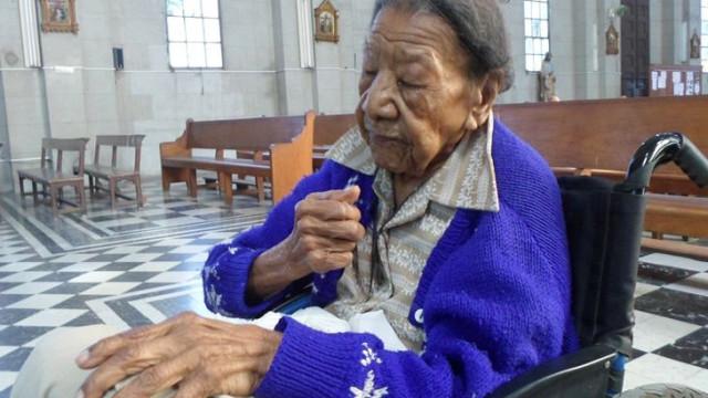 Morre María Emilia, uma das mulheres mais velhas do mundo