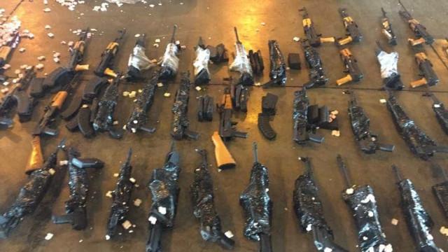 Fuzis apreendidos no Galeão são doados para a Polícia Civil do Rio