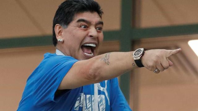 Maradona contrata hacker e acha culpado por áudio falso de sua morte