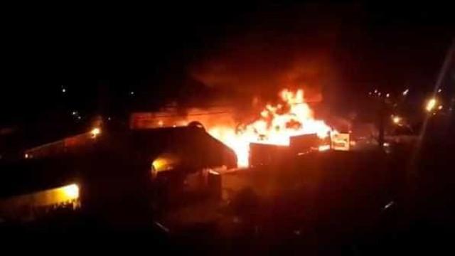 Incêndio atinge São João de Campina Grande e espaço é evacuado