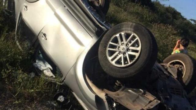 Ex-governador do Maranhão sofre acidente na BR-402
