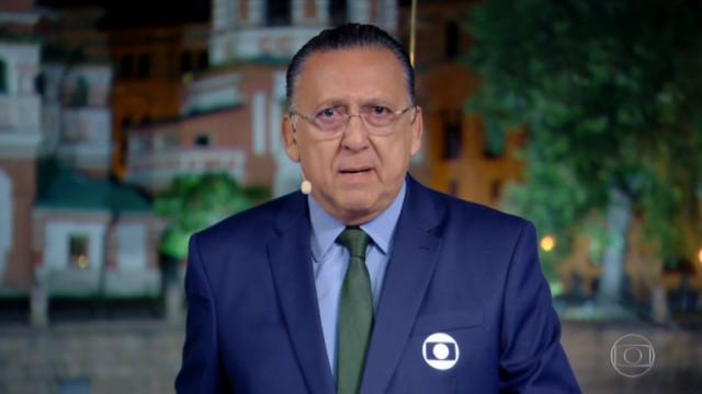 Galvão Bueno é internado e não narra final da Libertadores na Globo