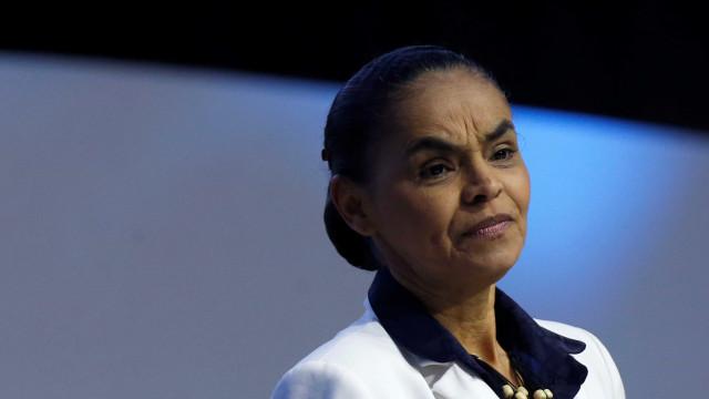Marina destaca o fato de ser a única mulher no debate