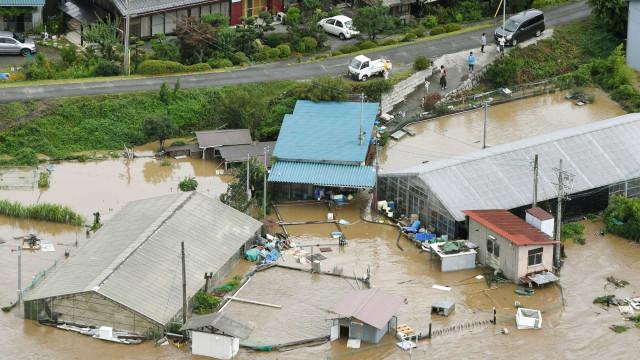 Número de mortos por tempestades no Japão sobe para 85