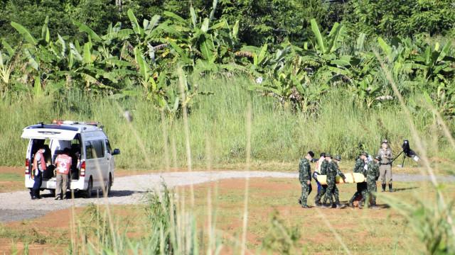Marinha tailandesa libera vídeo sobre resgate dos jovens na gruta; veja