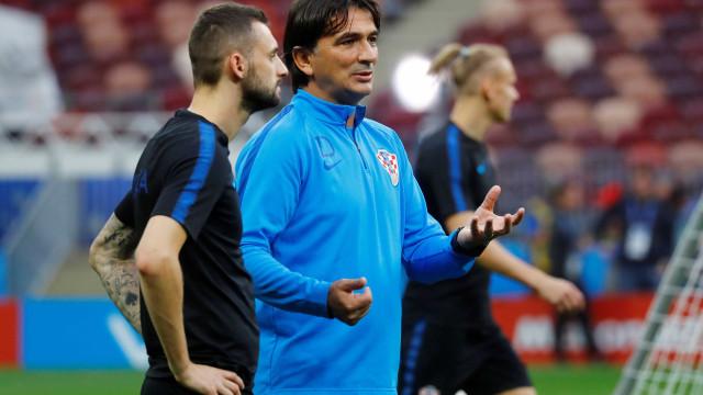 Treinador não vê Croácia como zebra diante da Inglaterra