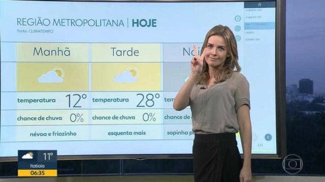 Apresentadora da Globo se afasta para fazer cirurgia de emergência