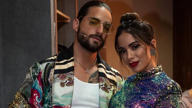 """Anitta confirma romance com Maluma: """"Choquei zero pessoas"""""""