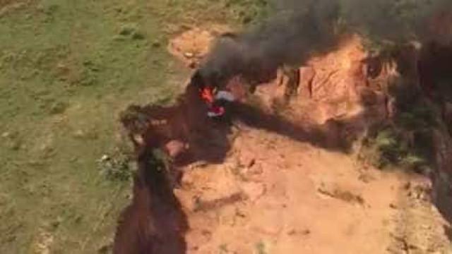 Ultraleve cai e deixa dois mortos na zona oeste do Rio
