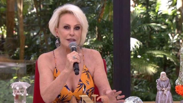 Ana Maria Braga volta ao Mais Você e diz que tumor já reduziu 50%
