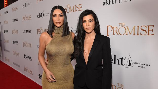Kim Kardashian fica furiosa com Kourtney: 'Não sabe o que é trabalho'