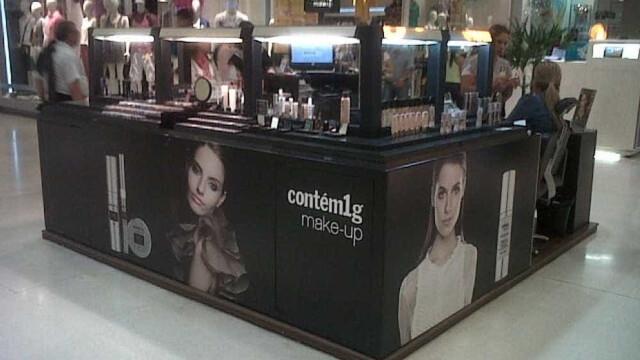 Marca de cosméticos Contém 1g pede recuperação judicial