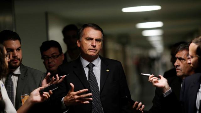 Bolsonaro chama Greta de 'pirralha' e diz ser contra desmatamento
