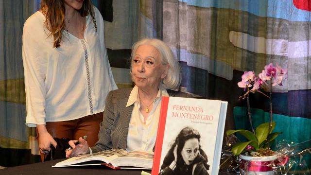 Fernanda Montenegro fala sobre a escolha de uma carreira no teatro