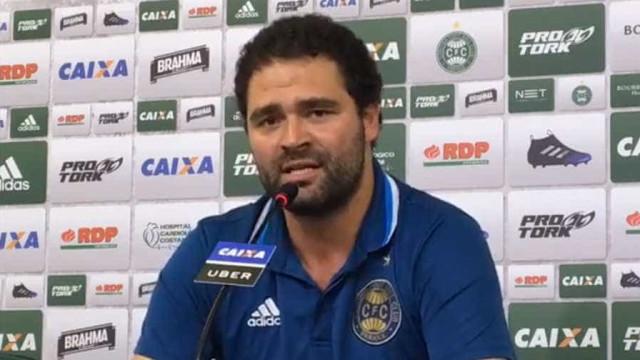 Presidente do Coritiba detalha crise e confirma ex-técnico do Paraná