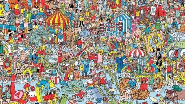 Inteligência artificial estraga a brincadeira de 'Onde Está o Wally?'