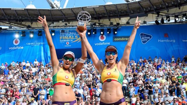 Agatha e Duda conquistam o World Tour Finals de vôlei de praia