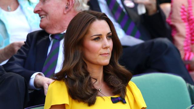 Kate Middleton revela seu truque para o sapato não escorregar