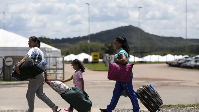 Operação Acolhida recebeu 1,3 mil venezuelanos no país em agosto
