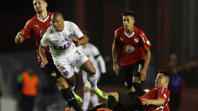 Santos é julgado culpado, e jogo com Independiente vira 3 a 0