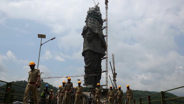 Maior estátua do mundo está prestes a ser finalizada; conheça