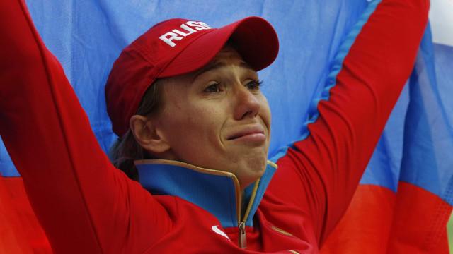 Atleta russa perde título mundial no lançamento do dardo por doping