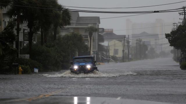 Furacão Florence perde força e é considerado 'tempestade tropical'