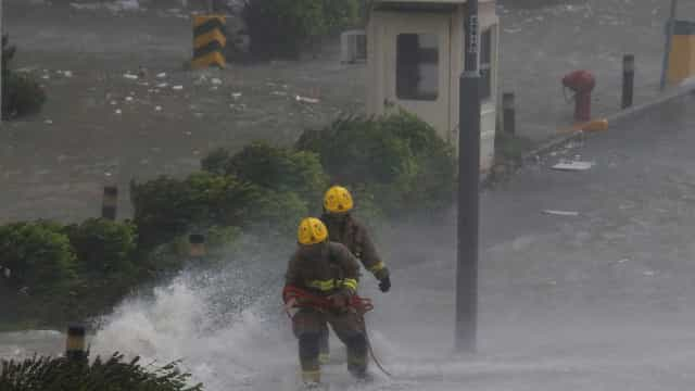 Tufão leva governo dos EUA a decretar emergência nas Ilhas Marianas