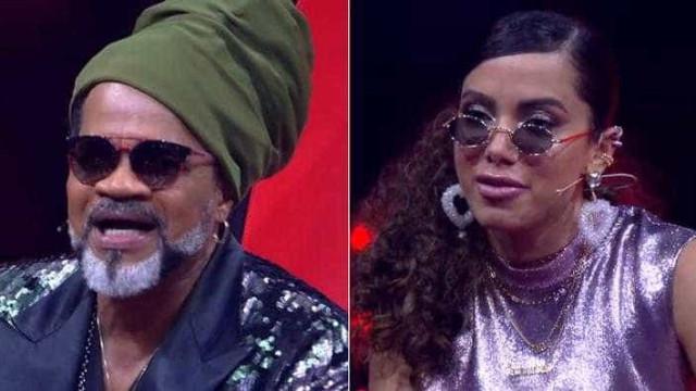 Carlinhos Brown ignora opinião polêmica de Anitta no 'The Voice'