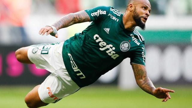Felipe Melo sofre fratura no tornozelo esquerdo e desfalca o Palmeiras até 2021