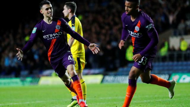City vence com gol de Gabriel Jesus e avança na Copa da Liga Inglesa