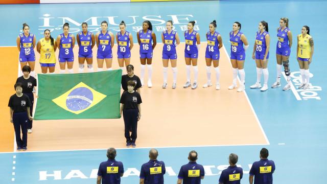 Brasil perde para a Sérvia no Mundial feminino de vôlei