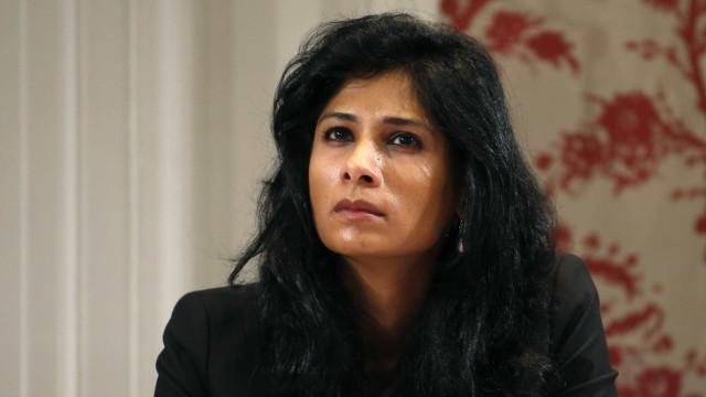 Gita Gopinath é 1ª mulher a ocupar posto de economista-chefe do FMI