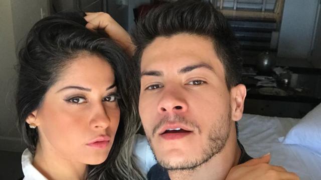 Grávida de nove meses, Mayra Cardi pede para que filha nasça logo