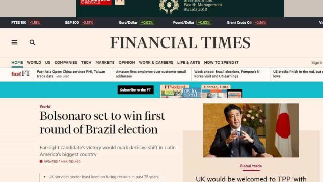 Sites de notícias europeus acompanham votação no Brasil de perto