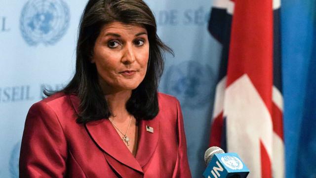 Embaixadora dos Estados Unidos na ONU renuncia
