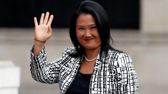 Justiça do Peru nega pedido de prisão preventiva de Keiko Fujimori