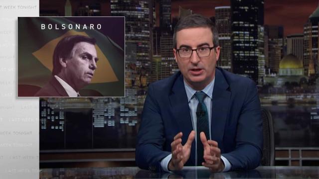 HBO não exibe no Brasil programa com críticas a Bolsonaro