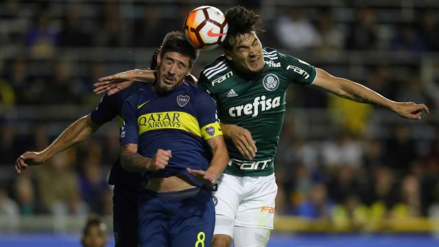 Palmeiras perde do Boca Juniors e se complica na Libertadores