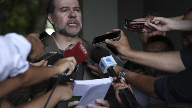 'Ainda estou pensando o meu voto', diz Toffoli
