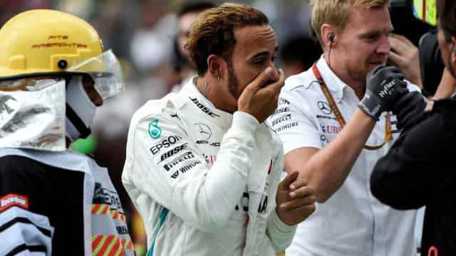 Hamilton admite 'corrida horrível', mas celebra: 'Muito emocionado'