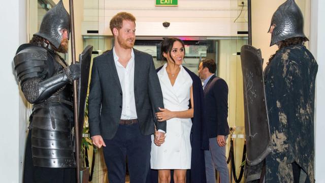 Príncipe Harry revela apelido de bebê com Meghan Markle