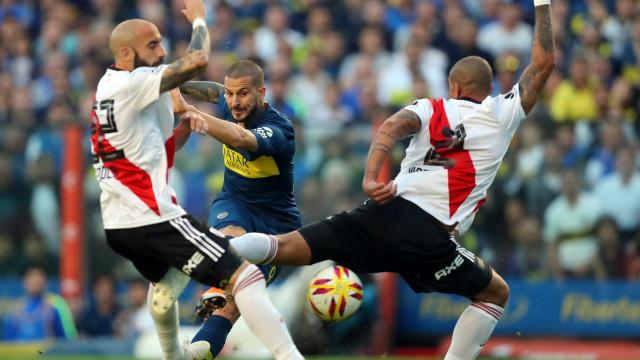 Boca e River disputam primeiro jogo da final da Libertadores