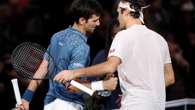 Nadal, Federer e Djokovic são amigos até no Whatsapp