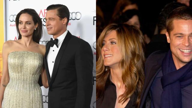 Esses triângulos amorosos deram o que falar em Hollywood