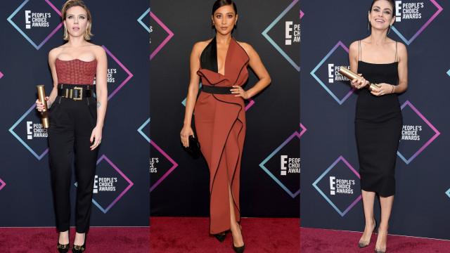 Veja os looks das estrelas no People's Choice Award 2018