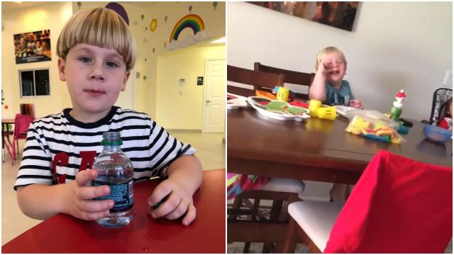 Gargalhada deste menino vai contagiar o seu dia