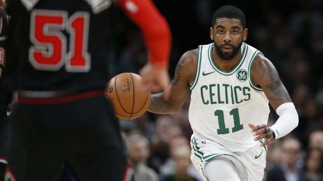 Kyrie Irving brilha e Celtics vence Raptors na prorrogação na NBA