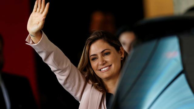 Michelle Bolsonaro diz que quer atuar em 'todos os projetos sociais'